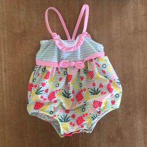 Fruity Bubble Bathing Suit 12-18 months